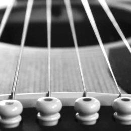 acoustic guitar F