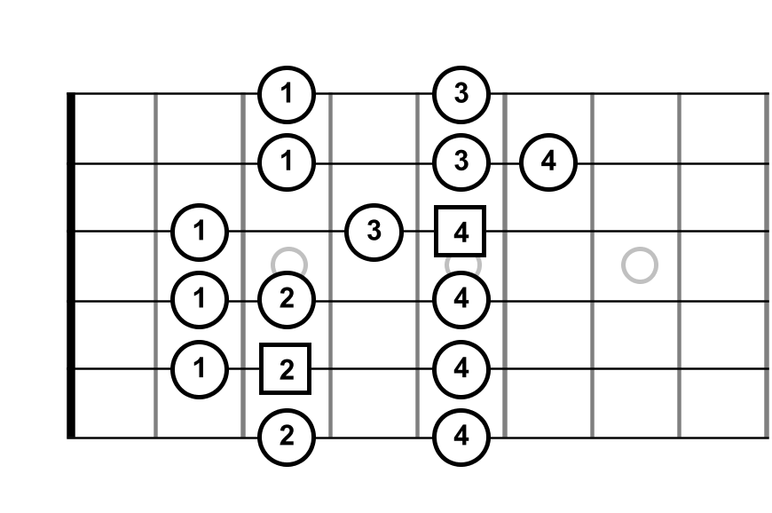 scale pattern diagram